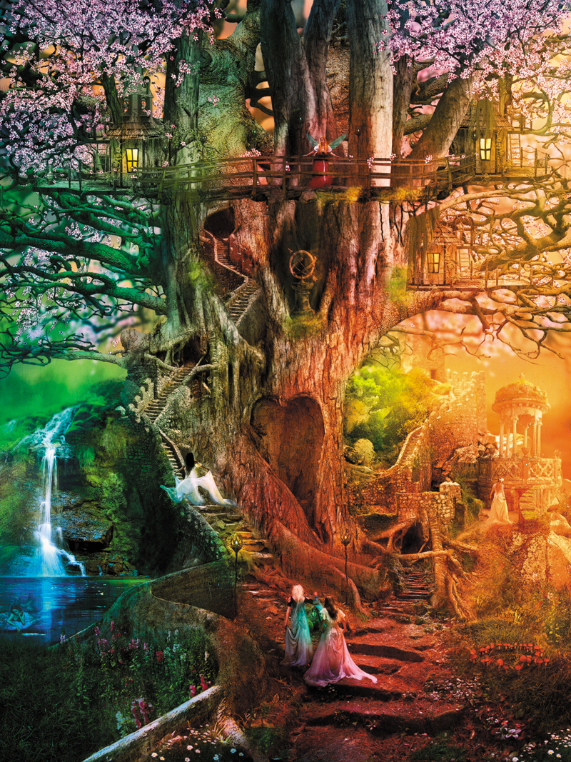 Reflections The Dreaming Tree Jigsaw Puzzle