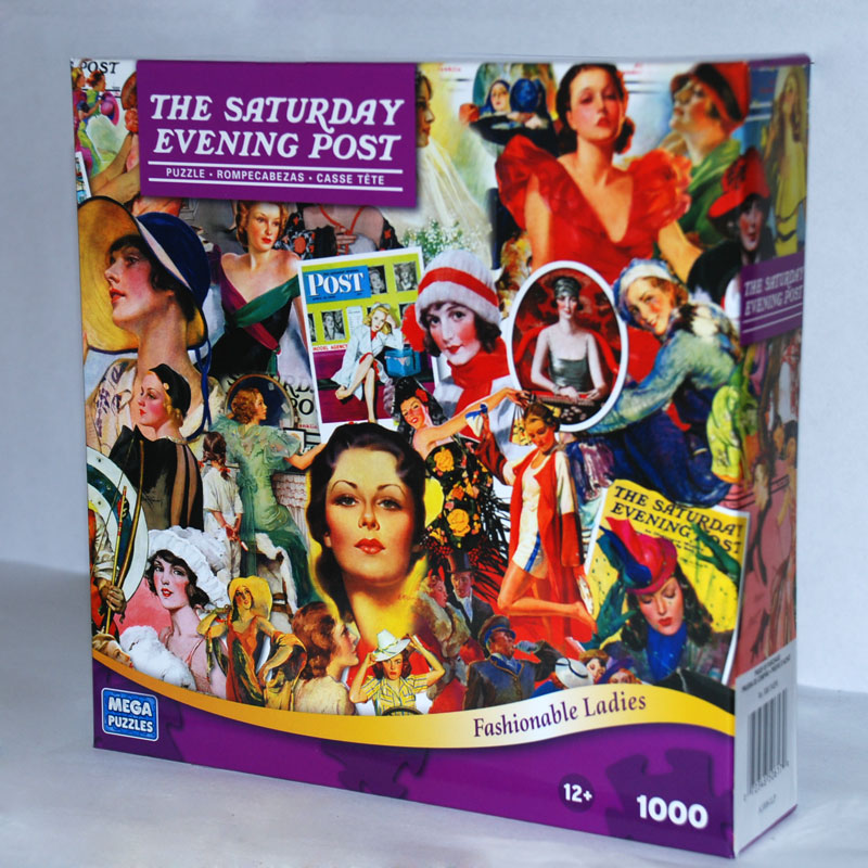 Saturday Evening Post - Fashionable Ladies Americana Jigsaw Puzzle