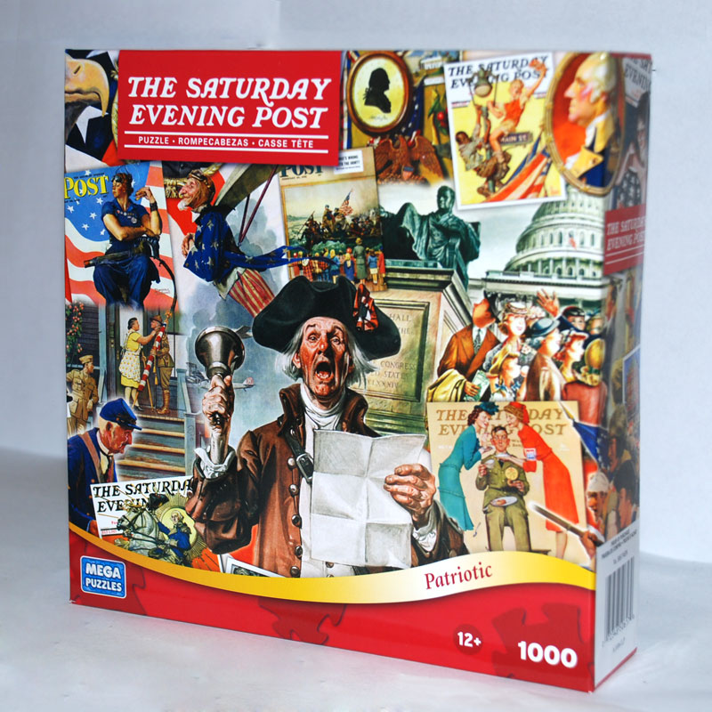 Saturday Evening Post - Patriotic Nostalgic / Retro Jigsaw Puzzle