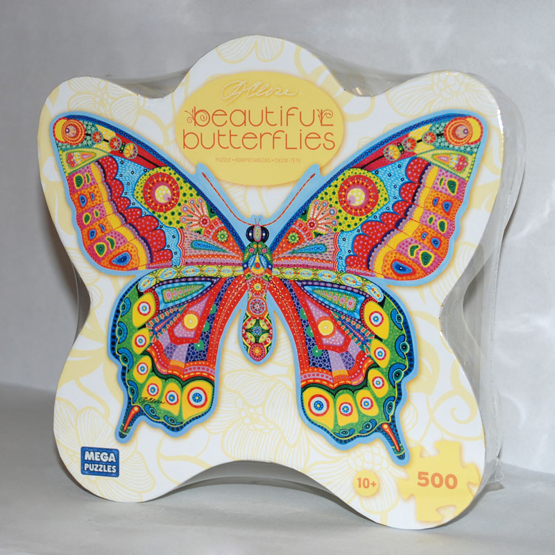 Sky Cruise Butterfly Shaped Puzzle