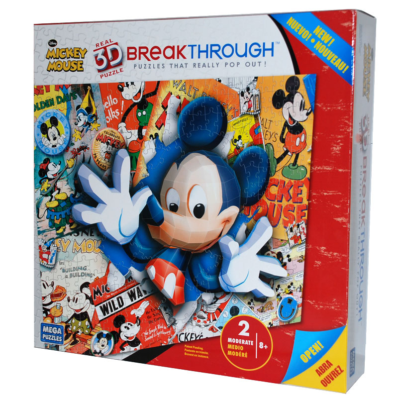 Real 3D Breakthrough - Mickey Mouse Disney Jigsaw Puzzle