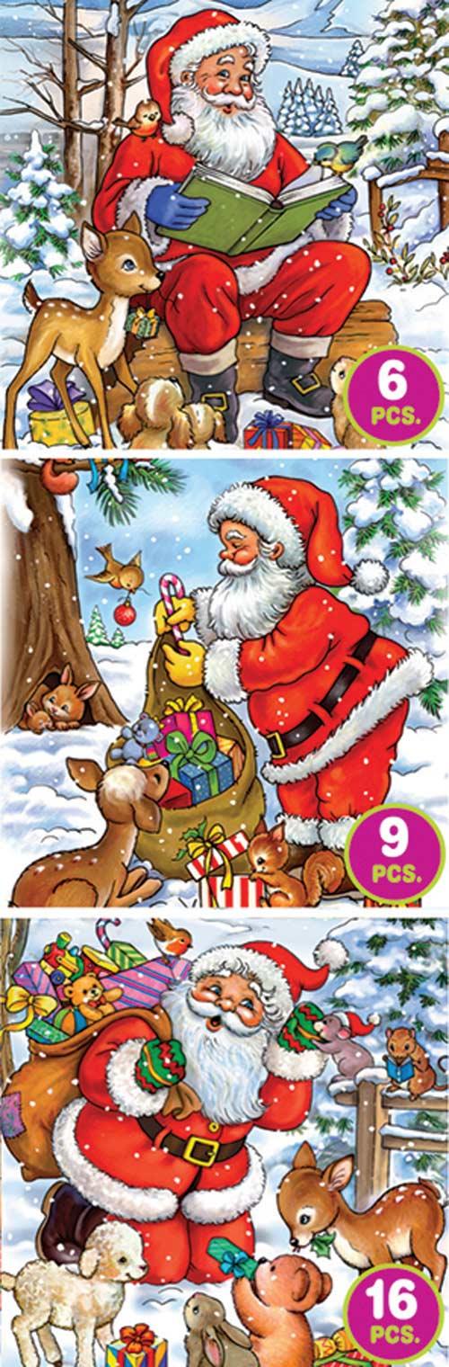 Santa Tales Santa Jigsaw Puzzle