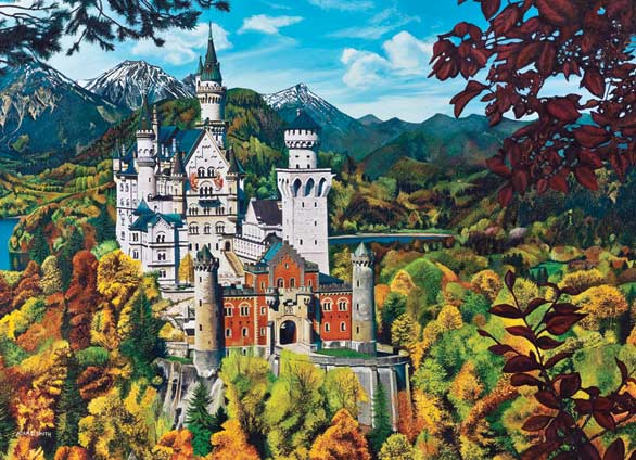 Neuschwanstein Castle - Scratch and Dent Castles Jigsaw Puzzle
