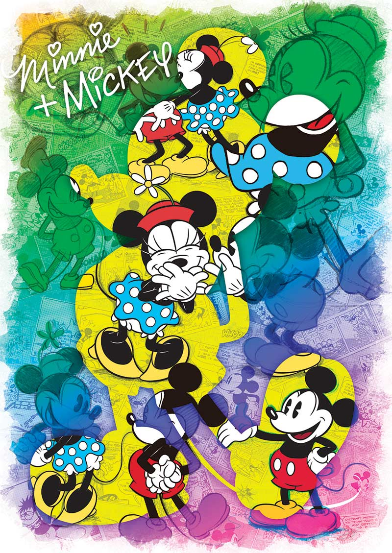 Disney Expressions Minnie And Mickey Forever Jigsaw