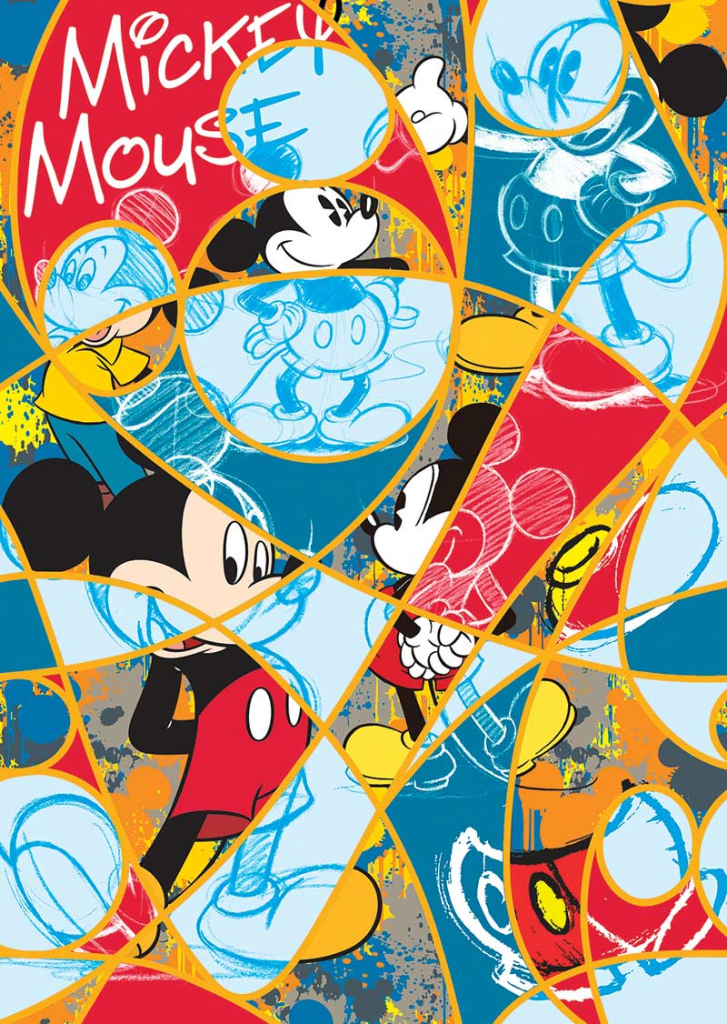 Disney Expressions - Timeless Mickey Disney Jigsaw Puzzle