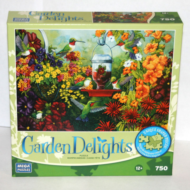 Garden Delights - Hummingbird Holiday Birds Jigsaw Puzzle