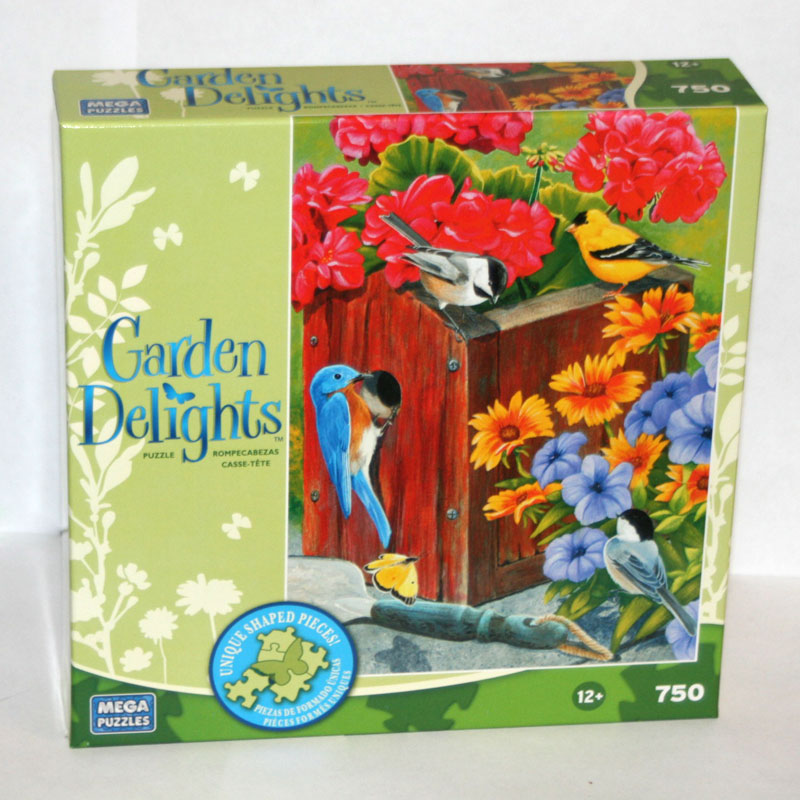 Garden Delights - No Vacancy Birds Jigsaw Puzzle