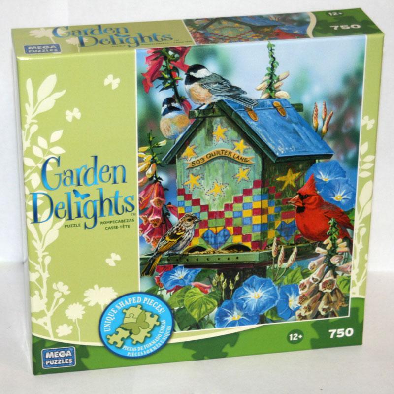 Garden Delights - Quilter Lane Birds Jigsaw Puzzle