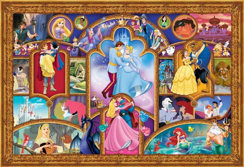 2000XL Disney Princess Jigsaw Puzzle PuzzleWarehousecom