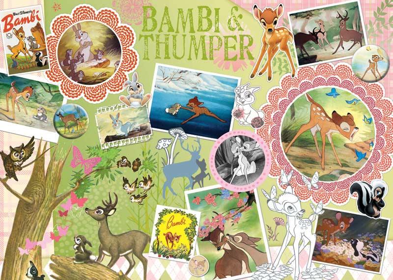 Disney ScrapBook - Bambi Cartoons Jigsaw Puzzle