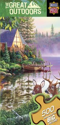Great Outdoors Space Savers - Paradise Bay Outdoors Jigsaw Puzzle