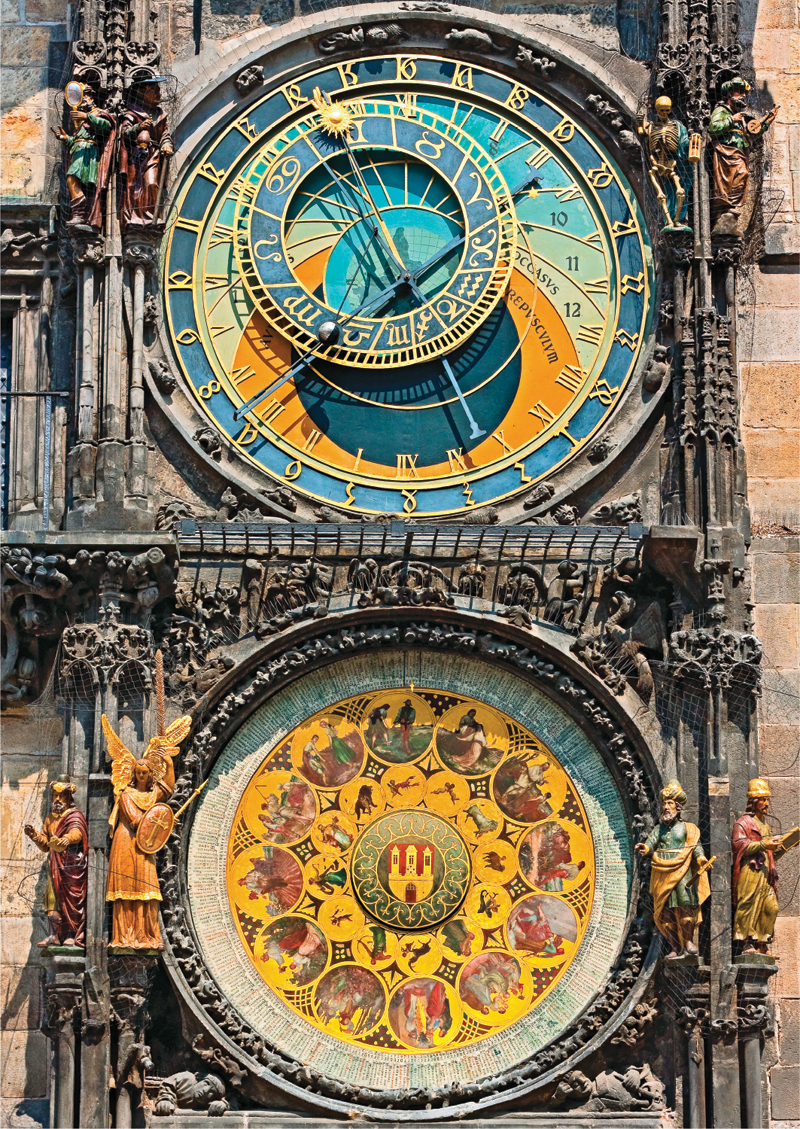 Structures Astronomical Clock Jigsaw Puzzle