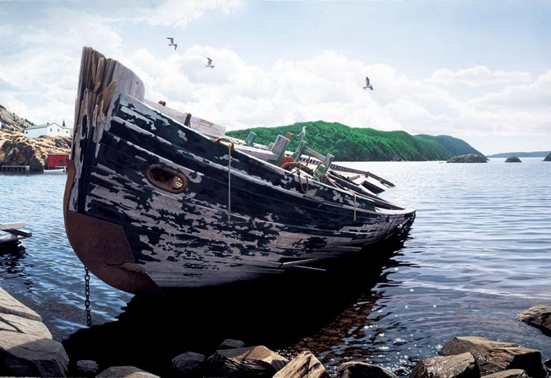 Awash Boats Jigsaw Puzzle