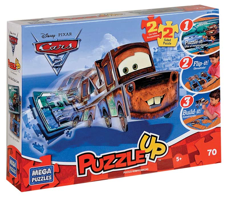 Disney Puzzle Up - Mater Disney Jigsaw Puzzle