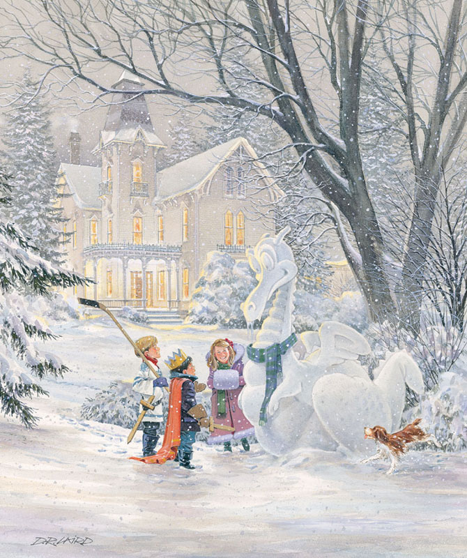 The Magic of Winter Winter Jigsaw Puzzle