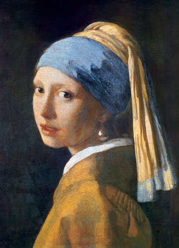 Girl with the Pearl Earring Renaissance Jigsaw Puzzle