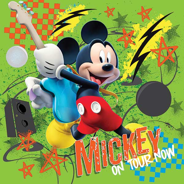Mickey on Tour Now Cartoons Magnetic Puzzle
