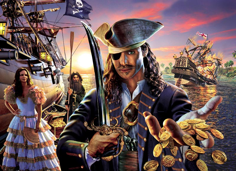 Pirate Gold Fantasy Jigsaw Puzzle