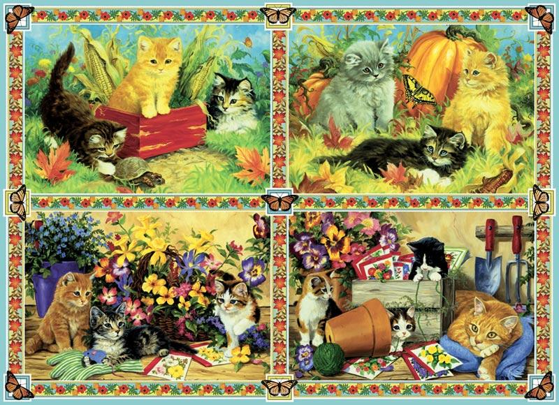 Purrrr Cats Jigsaw Puzzle