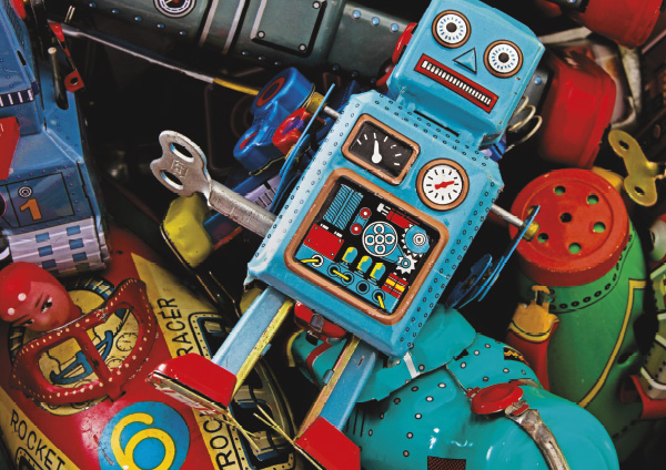 Snaps - Toys in a Box Nostalgic / Retro Jigsaw Puzzle