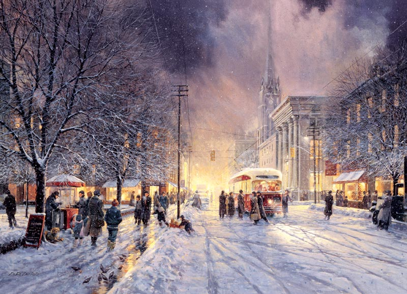 Winter Interlude Winter Jigsaw Puzzle