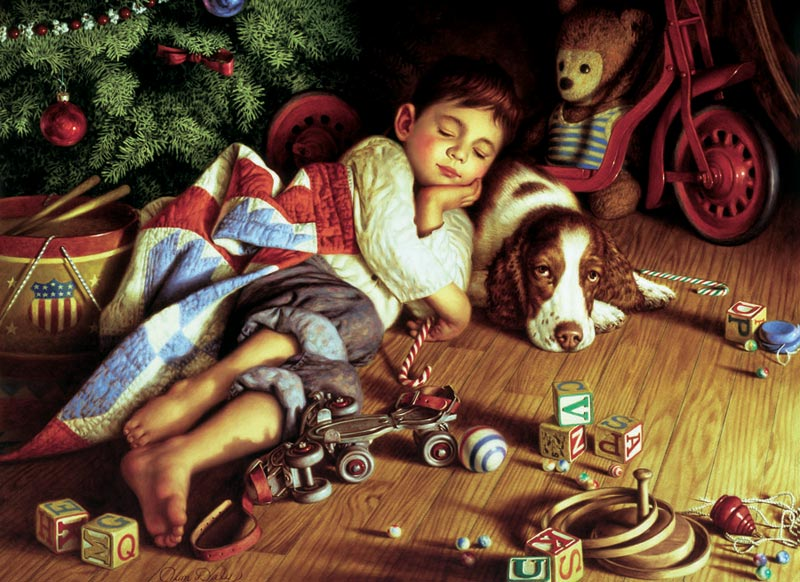 To All a Good Night Christmas Jigsaw Puzzle