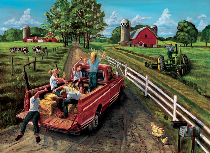 McGavin's Farm Farm Animals Jigsaw Puzzle