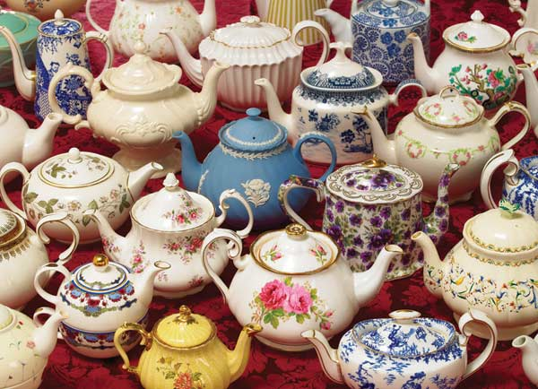 Teapots Everyday Objects Jigsaw Puzzle