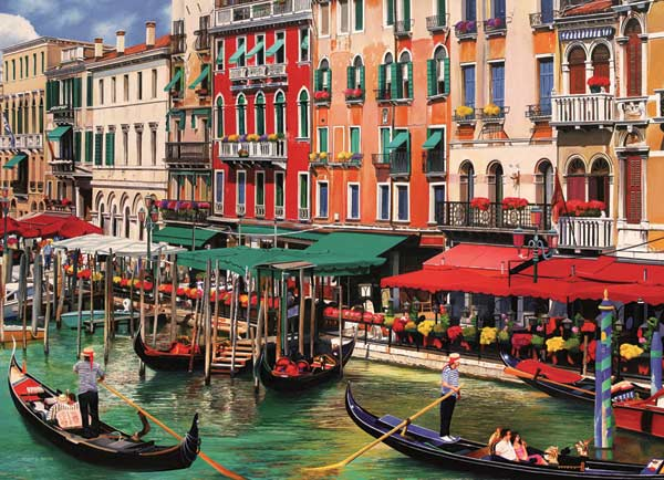 Venice in the Summer Italy Jigsaw Puzzle