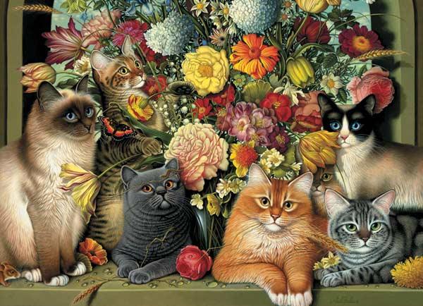 Boucat Cats Jigsaw Puzzle