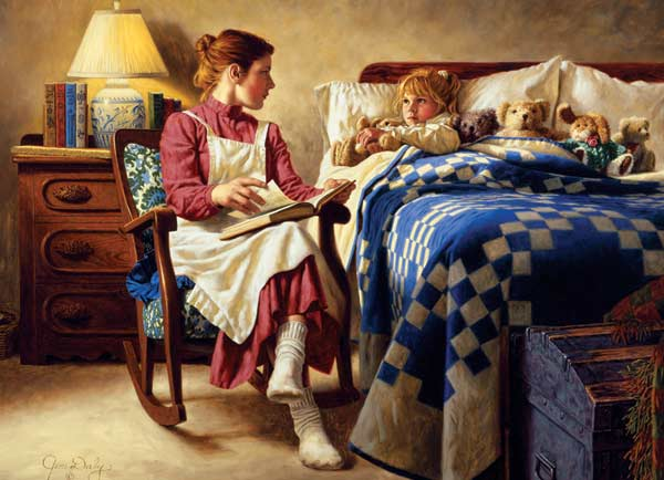 the effects of a bedtime story on a childs narrative skills