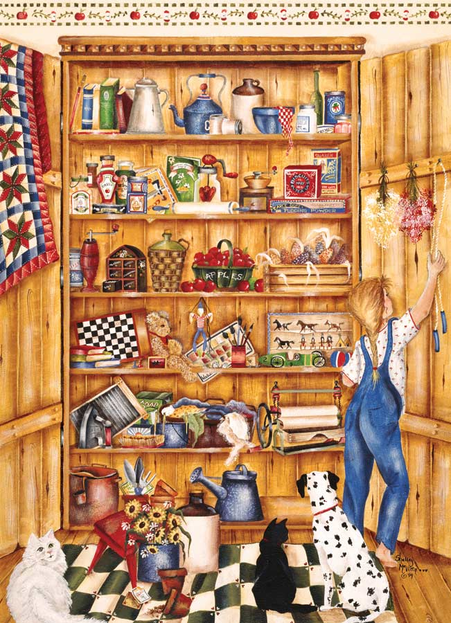 Pine Pantry Countryside Jigsaw Puzzle
