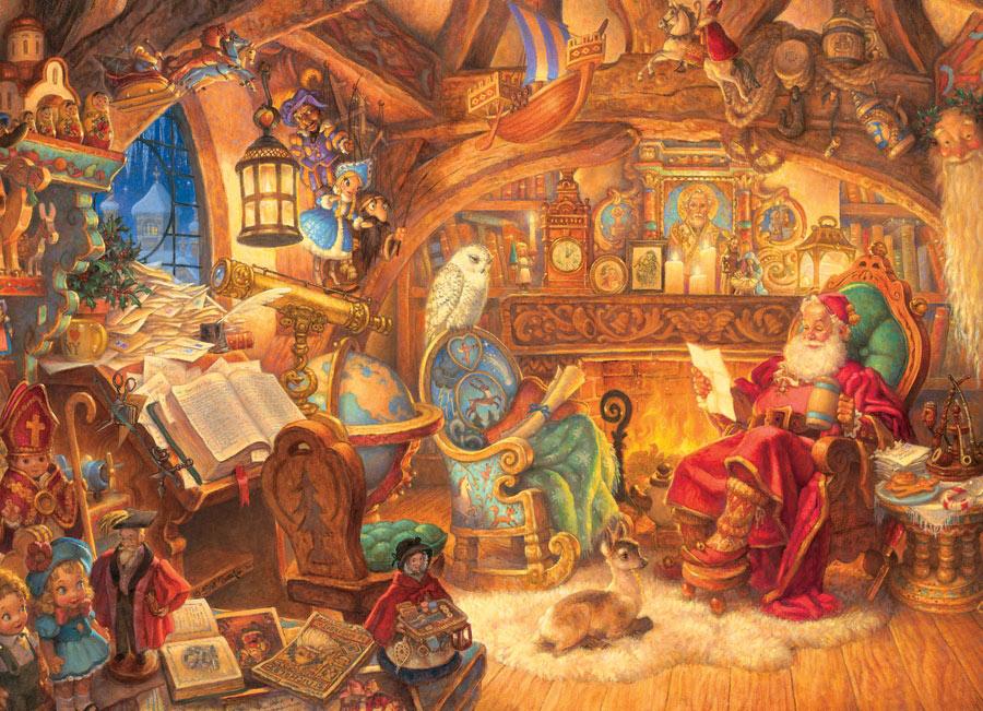 Father Christmas Santa Jigsaw Puzzle