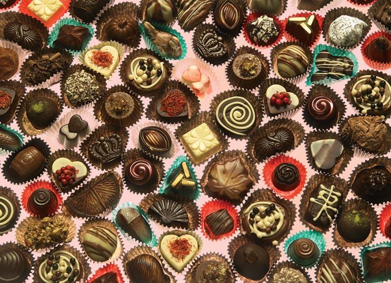 Chocoholic Valentine's Day Jigsaw Puzzle