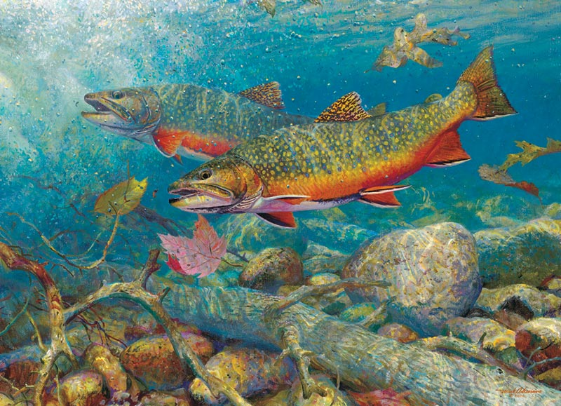 trout jigsaw puzzle