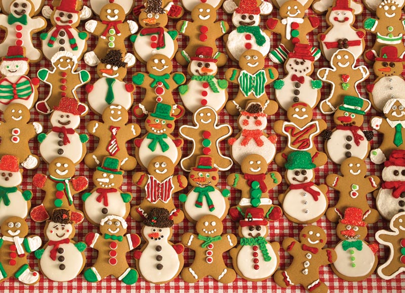 Christmas Bake Sale Food and Drink Jigsaw Puzzle