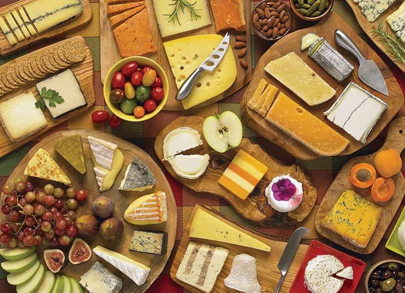 More Cheese Please Everyday Objects Jigsaw Puzzle