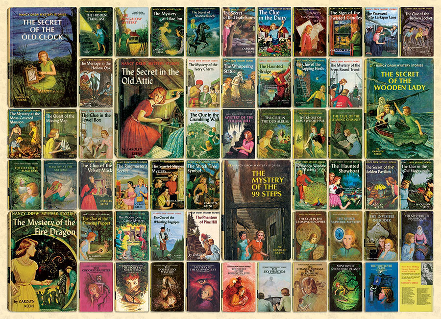 Nancy Drew Movies / Books / TV Jigsaw Puzzle