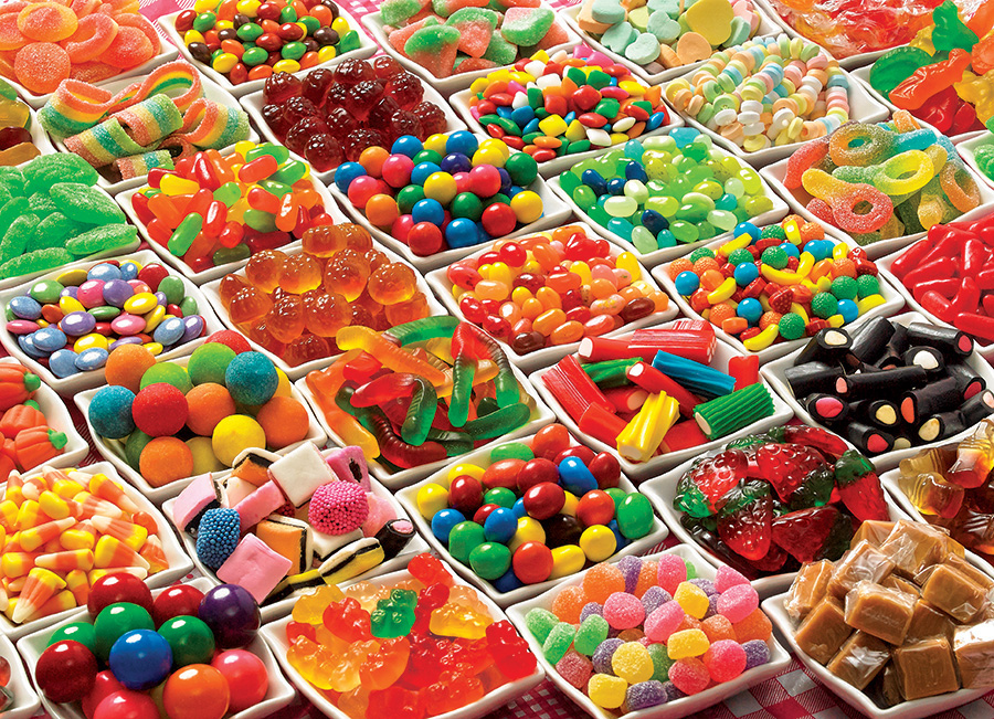 Sugar Overload Food and Drink Jigsaw Puzzle