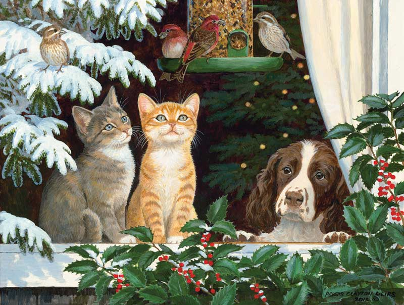Family and Friends Cats Jigsaw Puzzle