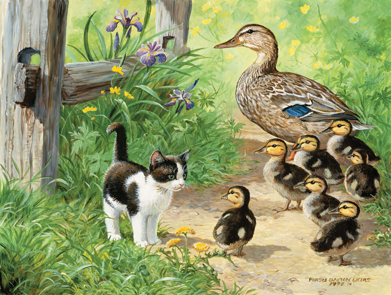 Duck Inspector Animals Jigsaw Puzzle