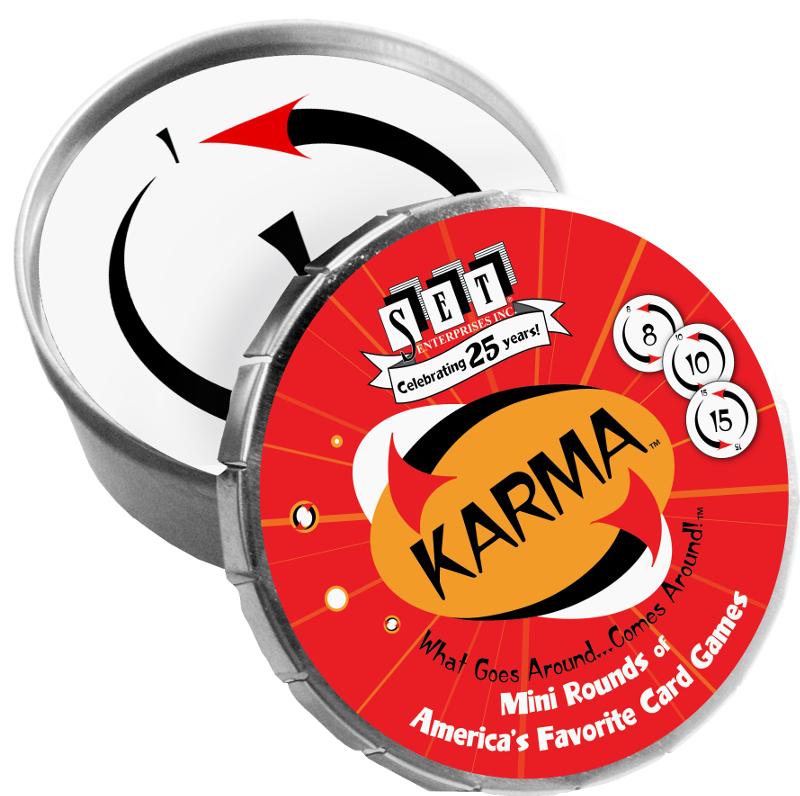 Karma Mini Round Strategy/Logic Games