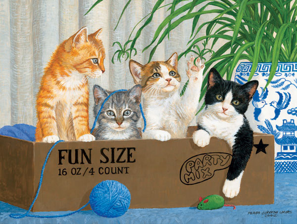 Fun Size Cats Jigsaw Puzzle
