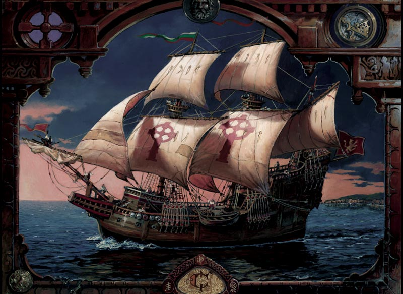 Voyage of Fianna Boats Jigsaw Puzzle