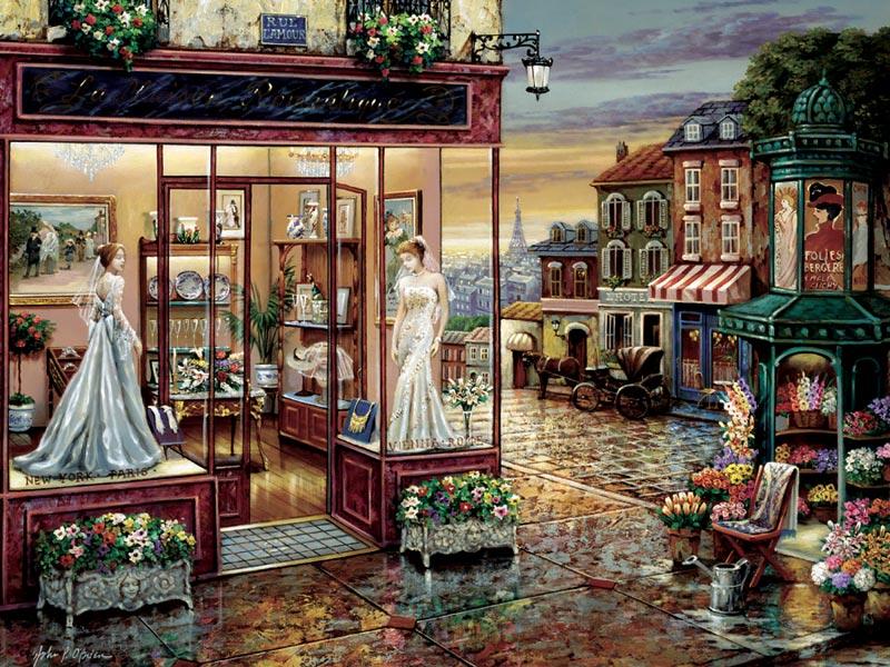 Rue L Amour Jigsaw Puzzle Puzzlewarehouse Com