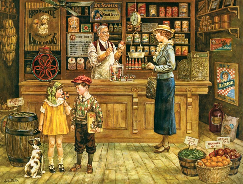 The Grocery Store General Store Jigsaw Puzzle