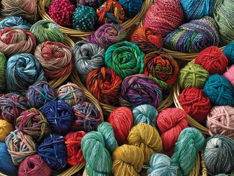 Balls of Yarn - Scratch and Dent Crafts & Textile Arts Jigsaw Puzzle