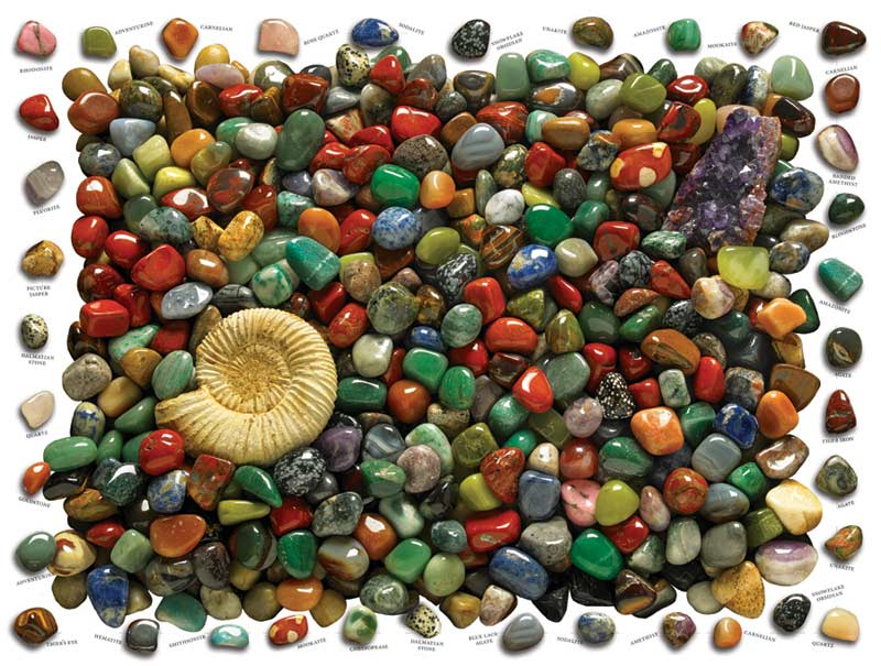 Rock Collection Everyday Objects Jigsaw Puzzle
