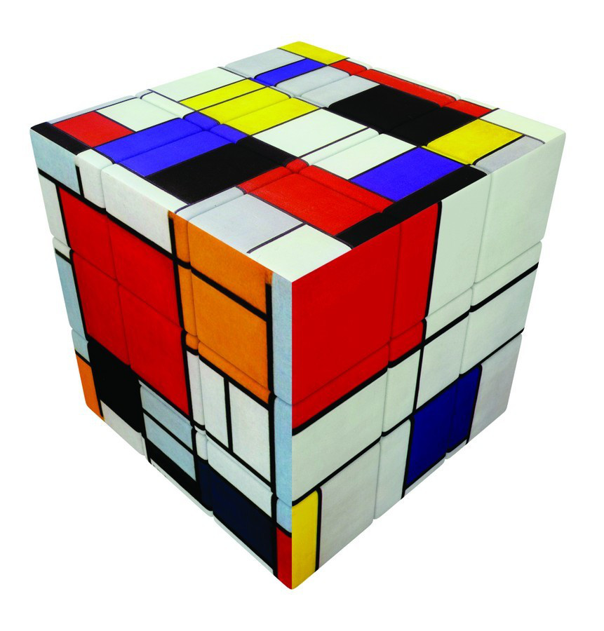 V-CUBE 3 FLAT - MONDRIAN Contemporary & Modern Art