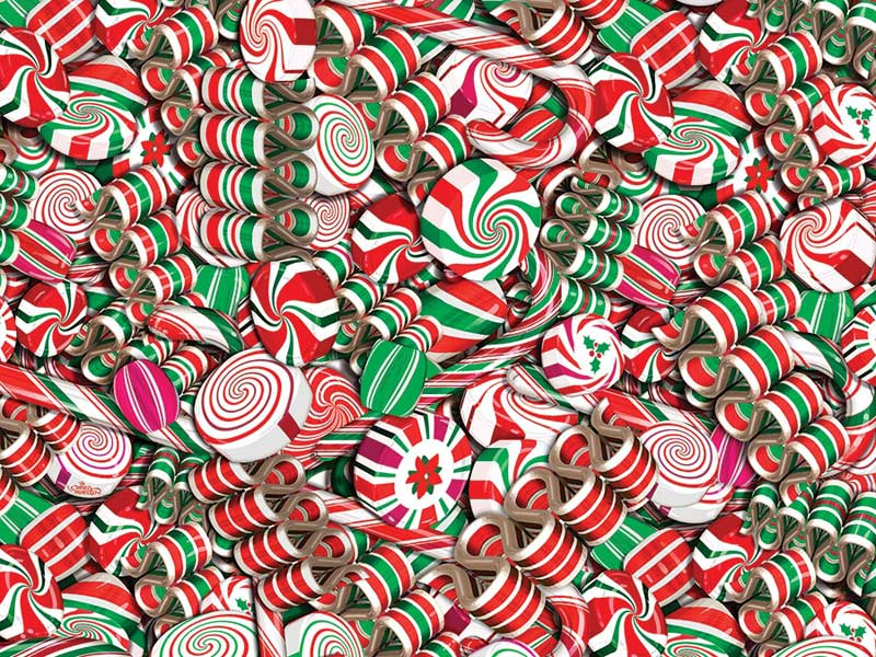Holiday Candy Food and Drink Jigsaw Puzzle